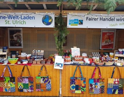 Weihnachtsmarkt St. Korbinian Dez. 2017