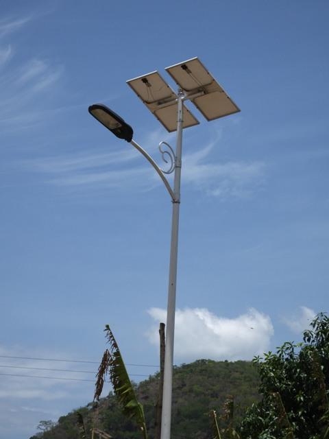 Solarlampe Straße