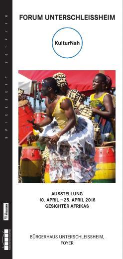 Gesichter Afrikas Einladungskarte Seite1